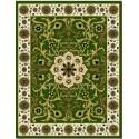 Alfombra Opus - Tradición Verde - 1.00 X 1.50