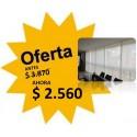 Cortina Roller - Tela Blanca- 1.03 X 1.65