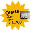 Cortina Roller - Tela Beige - 0.71 X 1.54