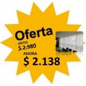 Cortina Roller Screen Blanco - 0.80 X 2.20
