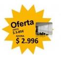 Cortina Roller Screen Blanco- 1.20 X 2.20
