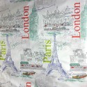 Tela De Cortinado - Tour Londres París