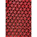Piso De Goma - Uru Grid - Rojo - 8mm